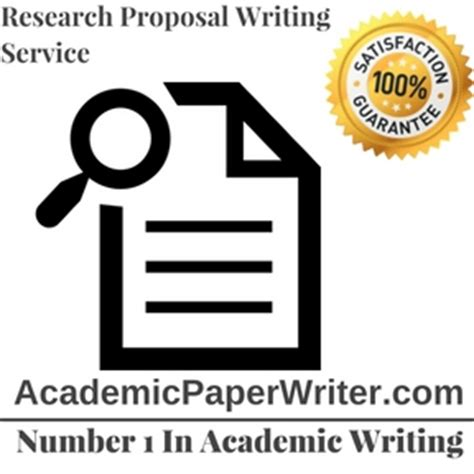 The Academic Proposal Writing Advice